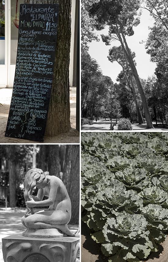 Scorci del parco di Albacete