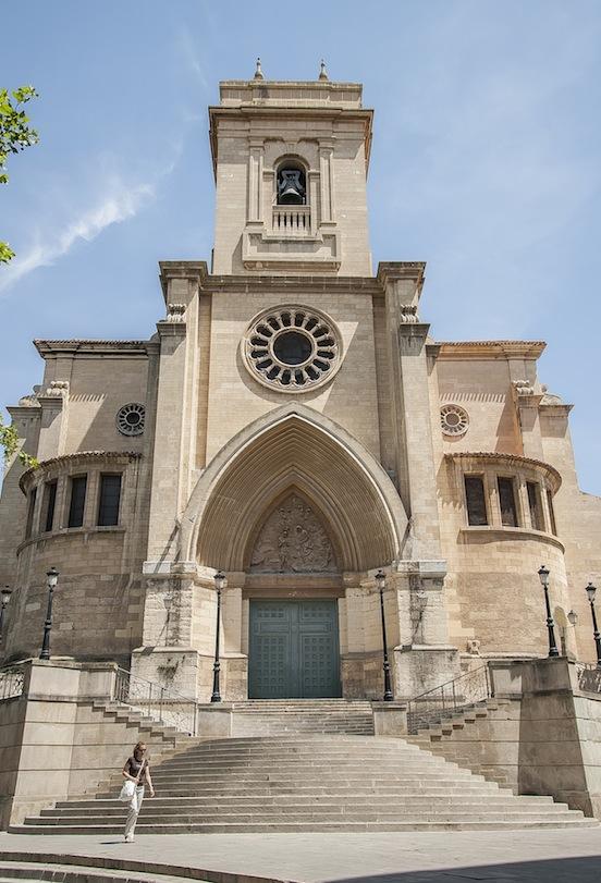 Cattedrale di Albacete, facciata