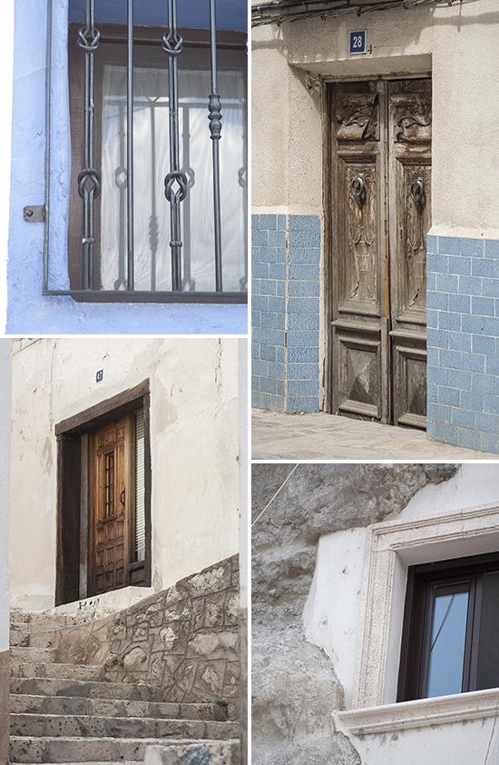 Porte e finestre - Alcala del Jucar