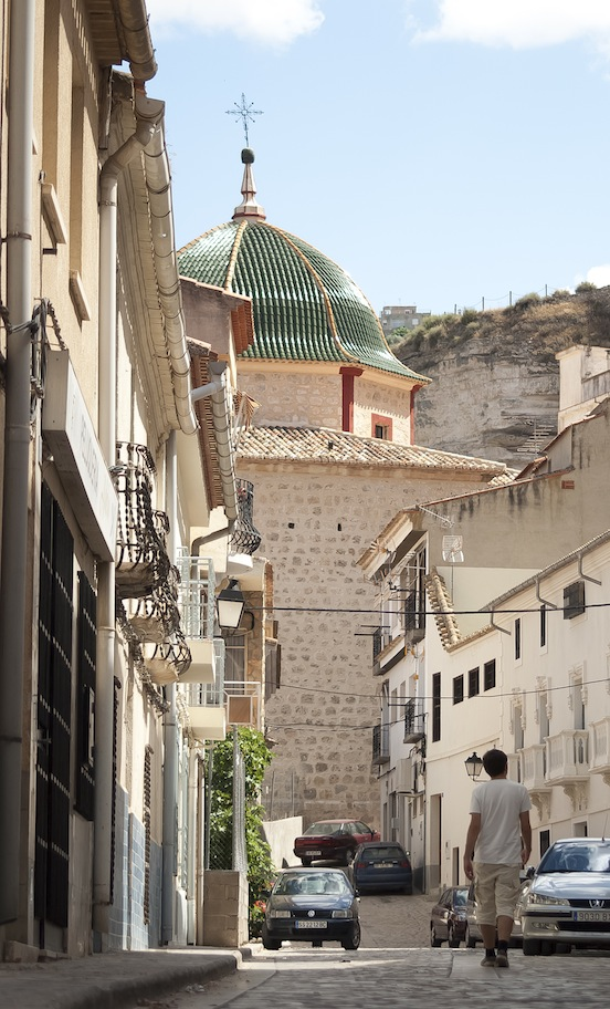 Rocce case e un castello ad alcal del j car viaggi in for Costruisci piani senza cupola
