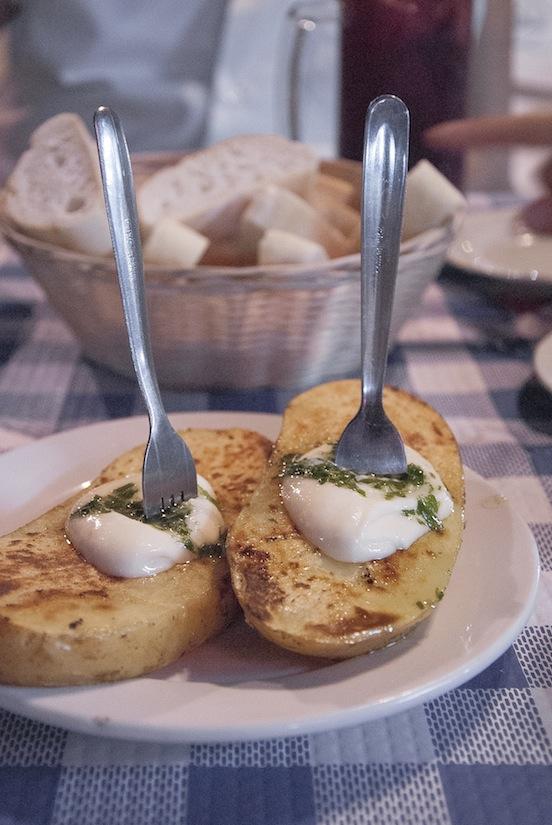 Cascos de patata della Feria, Albacete