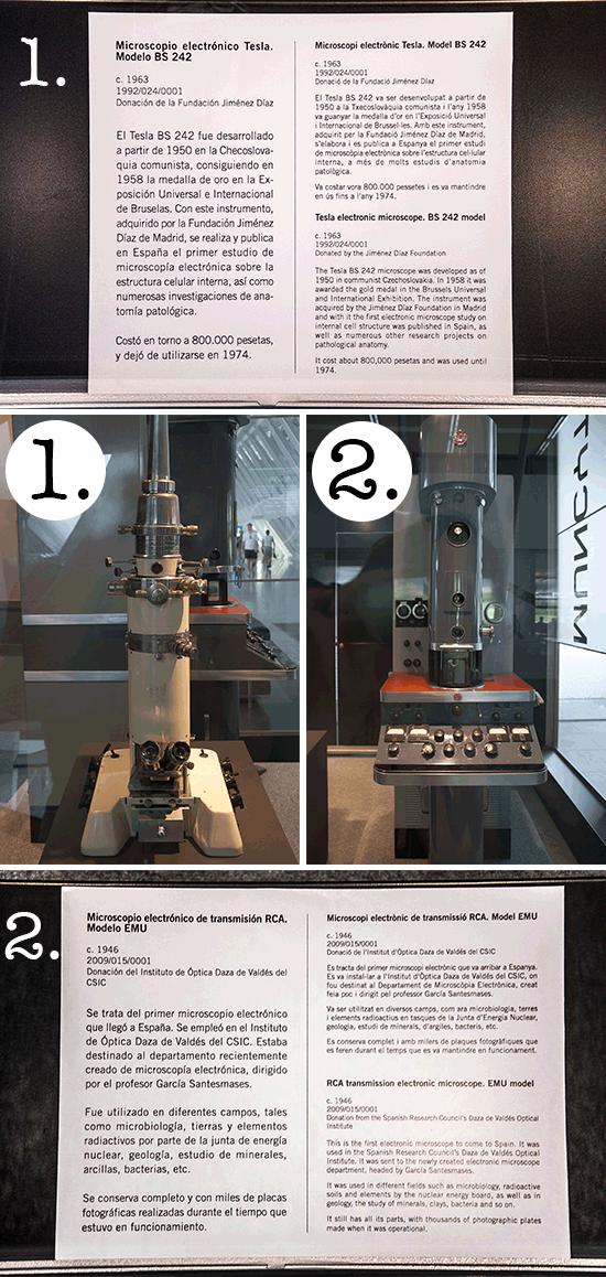 Microscopi elettronici, città della scienza di Valencia