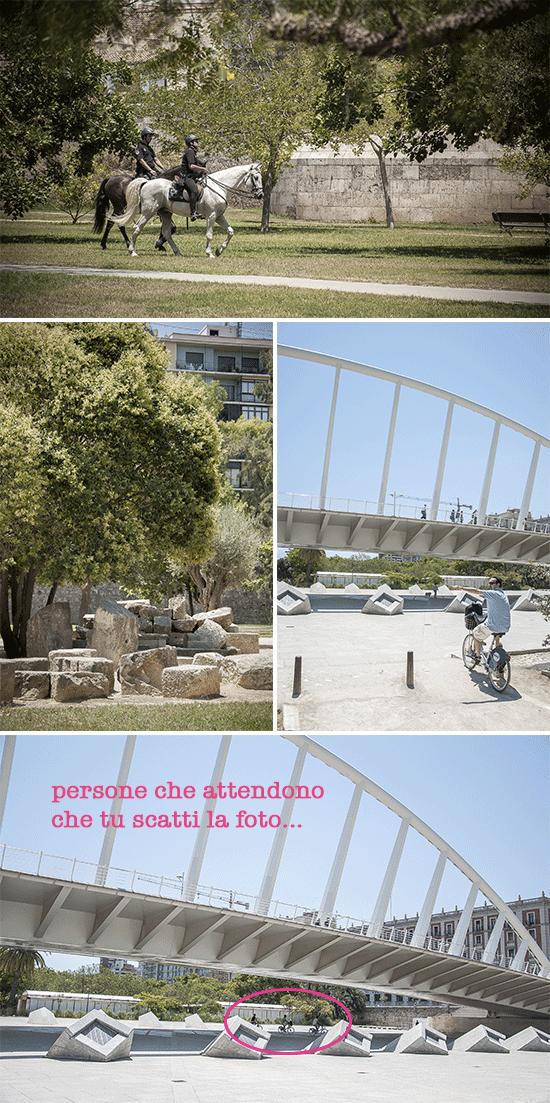 Scorci del parco di Valencia