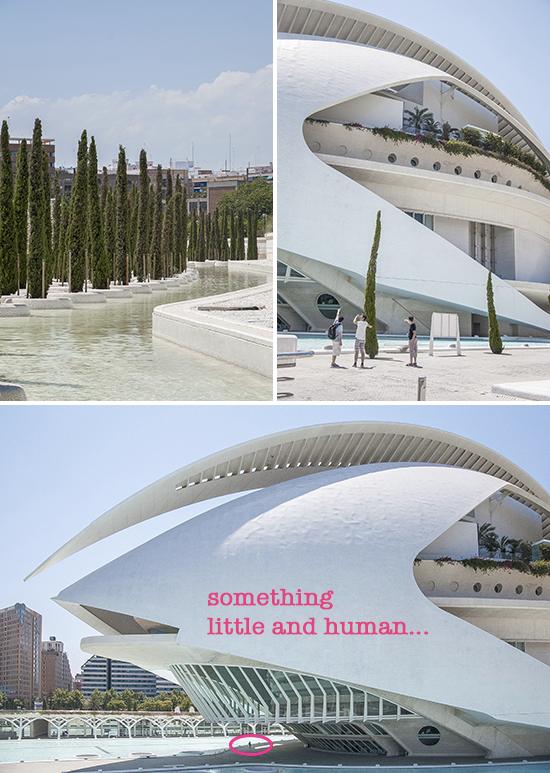 Scorci della città della scienza, Valencia