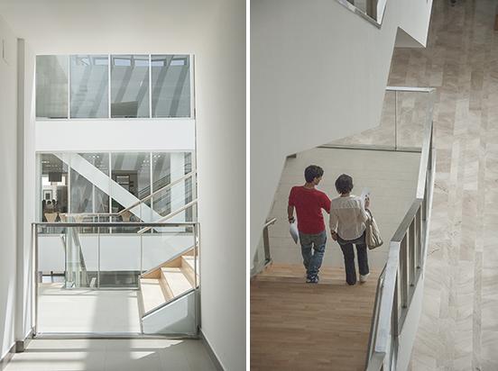 UCLM, Albacete - Edificio Polivalente -Interni