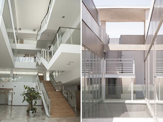 UCLM, Albacete - Edificio Polivalente -Interni ed esterni