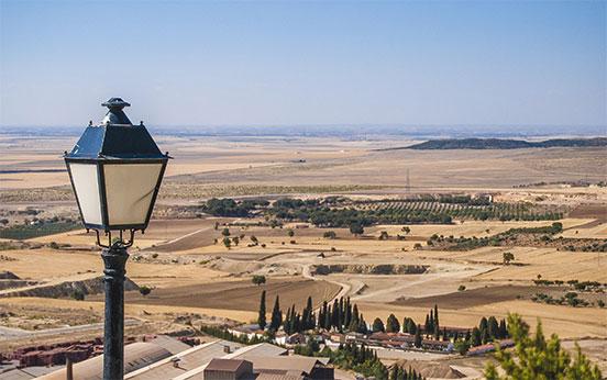 Panorama dall'alto, Chinchilla
