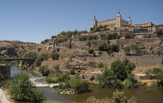 Veduta di Toledo dal Fiume Tago