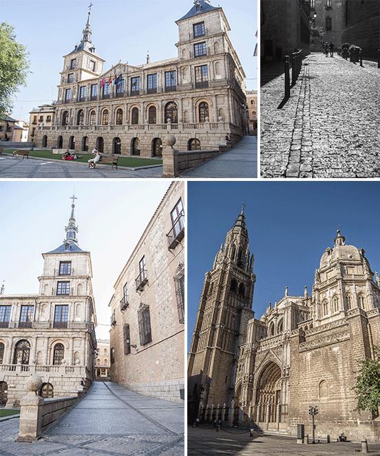 Cattedrale e Ayuntamiento, Toledo