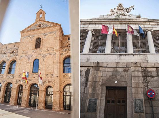 Escuela Oficial de Idiomas e Palacio Universitario Lorenzana, Toledo