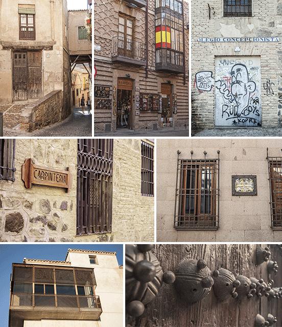 Toledo, scorci della cittadina