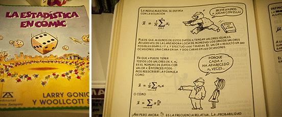 Libro di statistica in fumetto, Toledo, Biblioteca