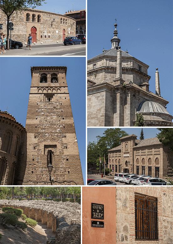 Toledo - plaza de toros, ospedale e altri scorci