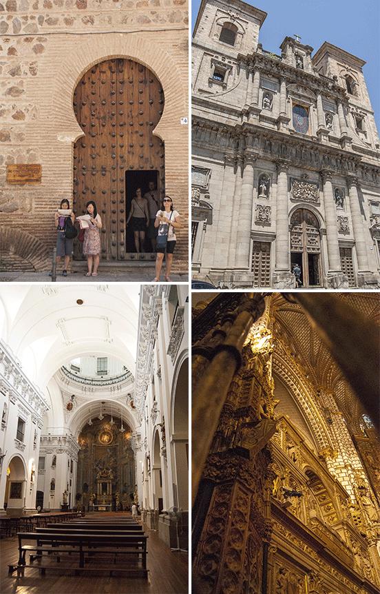 Chiese e cattedrale, Toledo