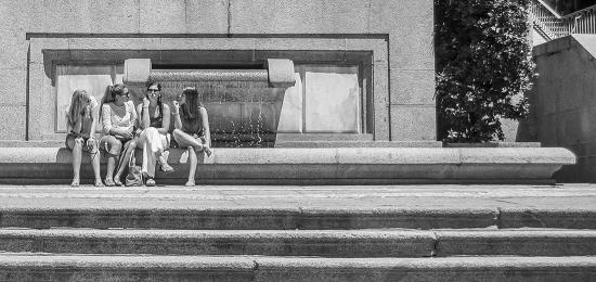Fontana e ragazze, El Escorial