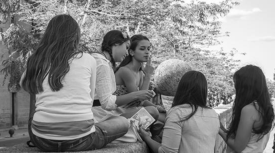 San Lorenzo dell'El Escorial, ragazze spagnole