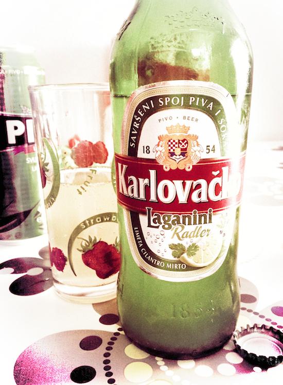 Radler aromatizzata al lime, coriandolo e mirto - Croazia